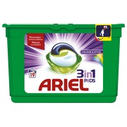 Ariel liquitabs color - box of 19 tabs
