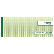 Booklet for receipts 50 sheets 10,5 x 27cm Exacompta