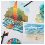 Derwent peinture acrylique Academy , 12 ml,  blister de 24 tubes en couleurs assorties