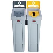 Rubbermaid kit d'étiquettes pour Slim Jim station de recyclage neérlandais