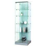 Column-shaped display cabinet glass Mastersoft