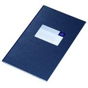 Registre in-folio large Atlanta ligné 100 pages bleu
