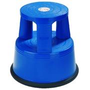 Tabouret Desq 42cm plastique bleu