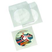 Cd/dvd hoes Quantore met venster wit
