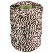 Ficelle coton 180m Rouge/Blanc