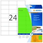 Etiquette Herma 4469 70x37mm vert 480 pièces