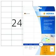 Etiquette Herma 4685 70x37mm transparent 600 pièces