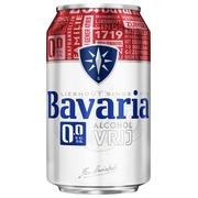 Bière Bavaria 0.0% canette 0,33L