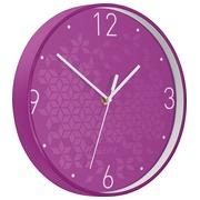 Leitz WOW Horloge murales, violet