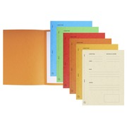 25er Packung Mappe Pour/contre 25x32cm - Rot