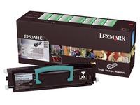 Toner Lexmark E250A11E zwart
