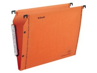Dossier suspendu pour armoires 33 cm Premium kraft LMG Esselte fond normal orange