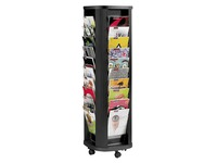 Rotating display case, 40 slots