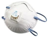Karton 10 Anti-Staubmasken mit Ventil FFP2S