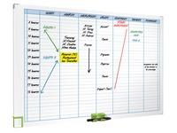 Magnetic week planner 7 columns Nobo