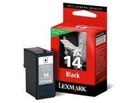 Cartridge Lexmark 14 zwart