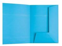 Sous-dossier 2 rabats Esselte 23 x 31 cm bleu - Paquet de 100