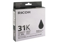 Cartridge Ricoh GC-31 K zwart