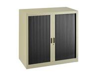 Union, dismountable tambour cabinet, H 100 cm, beige body