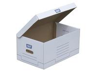 Caisse archives carton Fast H 26 x L 52 x P 35 cm blanche