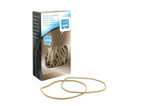 Rubber bands 120 mm - Box of 100 g