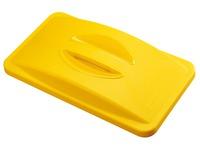 Couvercle pour poubelles tri sélectif Slim Jim jaune