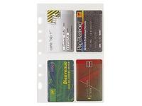 Refill sleeves for visit cards for organiser Exatime 21 - 28208E