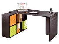 Worktable and biblicase Biblioffice 6 compartments