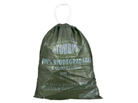 Atoubio, cardboard, 250 biodegradable garbage bags 40L, with tape