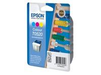 Cartridge 3 kleuren Epson C13T052040 - Epson T0520