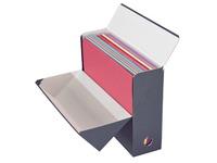 Boîte de classement carton Adine dos 9 cm couleur