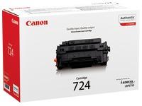 Toner Canon 724 zwart