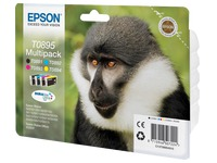 Pack of 4 inkjet cartridges Epson T0895