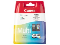 Set 2 cartridges Canon PG540 + CL541