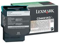 Toner Lexmark C544X1KG zwart