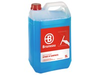 Bottle of 5 LWindow cleaner Bruneau