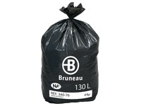 Box 200 garbage bags 130 l NF Bruneau