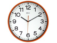 Coloured clocks Orium Orange