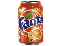 Pak 24 blikjes Fanta Orange 33 cl