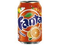 Fanta orange canette 33 cl - Carton de 24