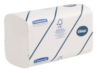 Box of 620 hand wipers z-folded Kleenex Airflex Ultra