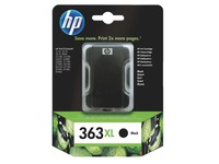 Cartridge HP 363XL zwart