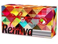 Doos met 80 zakdoekjes Red Label tweekleurig Renova