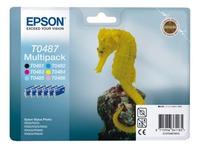 Cartridge Epson T0487 pack van 6 kleuren