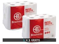 Pak 48 rollen toiletpapier JM Bruneau + 1 gratis pak