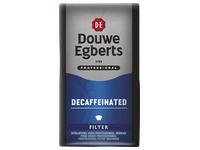Pack of 250 g Douwe Egberts ground coffee Decaffeinated (blue)