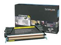 C736H2YG LEXMARK C736 TONER YELLOW (2109466)
