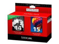 80D2979 LEXMARK TINTE (2) BLACK-COLOR