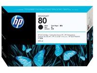 HP 80 - zwart - origineel - inktcartridge (C4871A)
