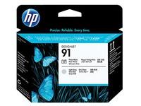 HP 91 - lichtgrijs, fotozwart - printkop (C9463A)